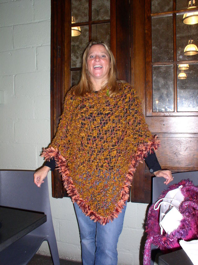 Major Knitter\'s Boot Camp: Poncho Fashion Show
